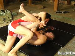 Twinks fight and suck