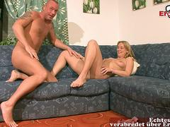 german blonde saggy tits housewife try first time porn