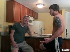 RealityDudes - Ben The Jock Loves His First Time Ass Fucking