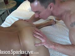 JasonSparksLive - Cade Maddox breeds young jock bareback after rim job