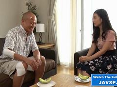 Japanese Teen And Horny Stepfather
