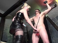 electro torture for slave bobby