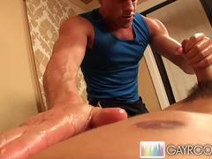 oily deep anal massage extreme