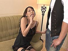 Creampied In Both Holes After Akari Asagiri Threesome