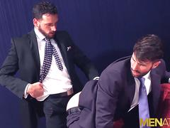MENATPLAY Businessmen Dani Robles And Enzo Rimenez Bareback