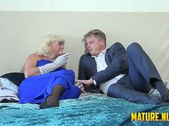 Dimonty fucked in her favorite stockings