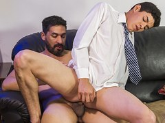 FamilyDick - Stepdad Punishes His Boy By Plowing His Asshole Raw