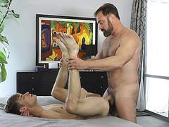 FamilyDick - Innocent Boy Gets His Tight Asshole Pounded By His Divorcee Stepdad