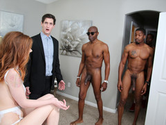 Pepper Hart Interracial Anal Gangbang - Cuckold Sessions